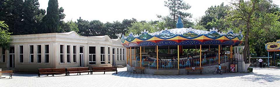 Parkdakı karusel